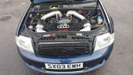 Audi rs6 c5 500bhp 500lb-ft 700nm avant