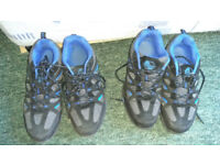Safety shoes size 5 as new. 2 pairs ,£10 for pair