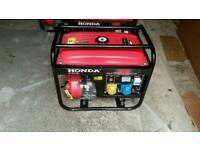 Honda generator petrol 6.5 kva 4 stroke