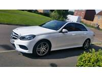 Driver and car hire Mercedes Benz E class for any purpose wedding day trip airport drop off