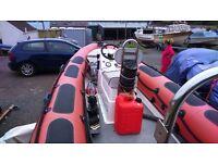 Valiant DR-490 RIB/ Boat