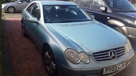 Mercedes Benz CLK200 1.8 Coupe Kompressor 2dr