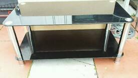 Television unit and matching coffee table.