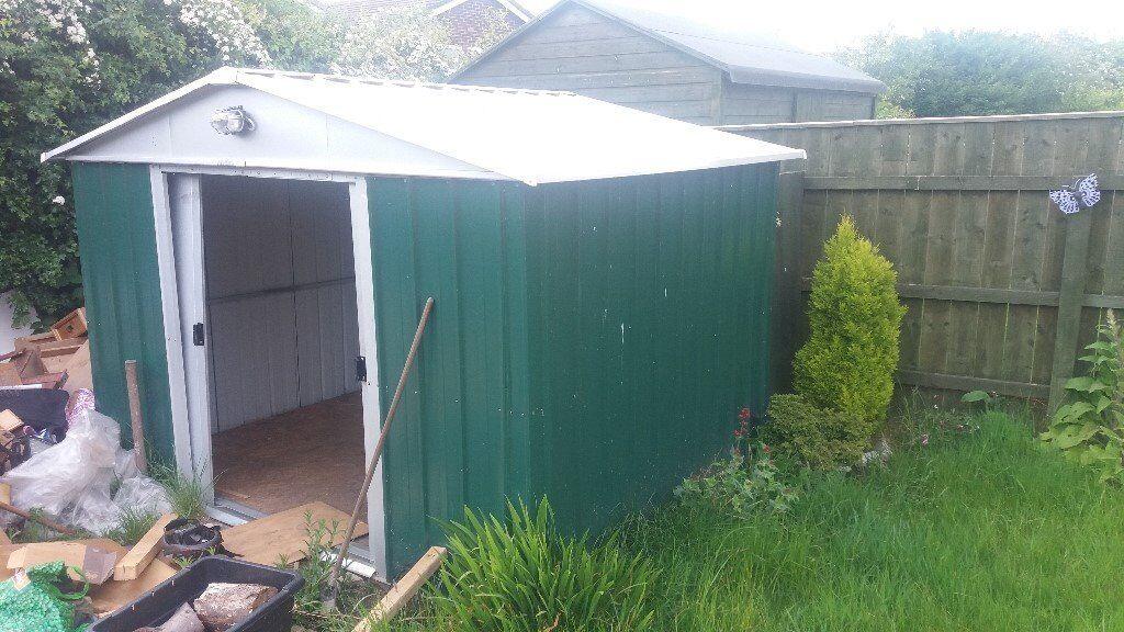 metal garden shed 7x9