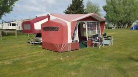 Conway Cardinal Folding Camper/Caravan Hard Top with Awning