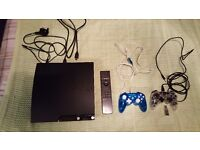 Playstation PS3 console and 2 controllers in very good condition. Make a great christmas present.