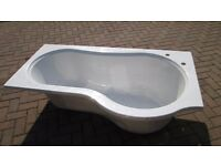 Beresford 1500mm right hand shower bath - new/never fitted - real bargain at £60