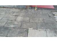 Concrete Pavers - riven, buff, 670 x 445 x 38mm