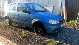 1.2 Blue Vauxhall Corsa For Sale