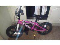 girls 16 inch bmx zinc bike