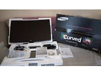 """Samsung 27"""" curved TV monitor"""