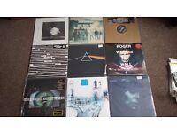 Vinyl Lp Record Collection Floyd Radiohead