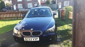 BMW 520i e60 2004 Automatic 2.2 Petrol 163.000 miles