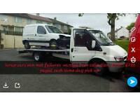 Cash for scrap cars van mot failures free collection £100- £1000