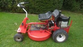 Snapper ride on mower with briggs 12hp engine