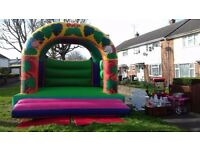 Ultimate kids party package for hire (Bouncy castle, popcorn & candy floss machine, sweet wheel)