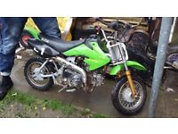 MINI Dirt Bike 124cc for sale, Well Maintained.