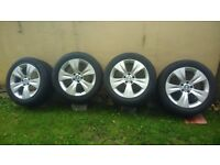 BMW X 5 E 70 wheels and tyres