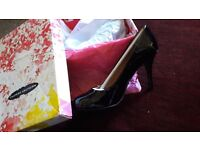 Brand new patent leather chinese laundry court shoes. In original box