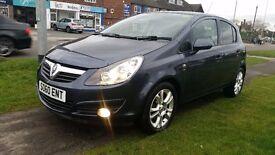 2010 (60) Vauxhall corsa SXI 12 months MOT full service history, excellent condition & low miles