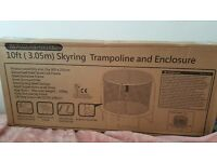 Brand new, unused and still in the box Skyring Trampoline & Enclosure - 10 ft (3.05m), Sportspower