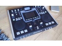 Numark iDJ2 mixing console with case and keyboard