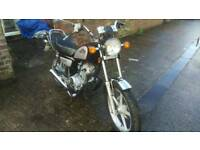 2012 Huoniao HN125-8 cruiser style bike for sale