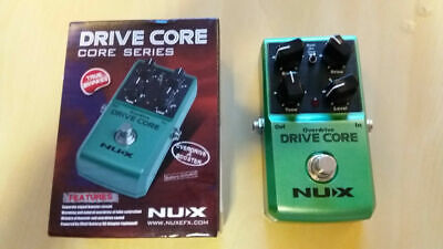 NUX Drive Core And Boost Guitar Pedal. Brand New.