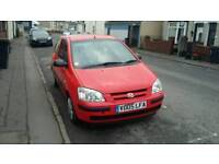 05 PLATE HYUNDAI GETZ. 1.1 PETROL. DRIVES WELL
