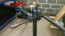 "Tube Bender Up To 2"" Bending Capability Pipe Bender £300 no dies included"