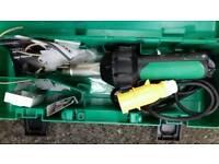 Vinyl flooring heat gun. Heat gun