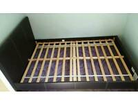 Small double bed frame £40 ono