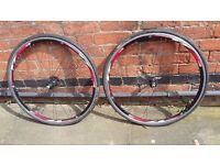 Racing bike wheels new, 700×28