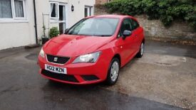 Seat Ibiza 2012 (6J) 1.2 petrol low miles 46k
