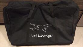 Bike padded travel bag