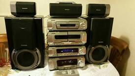 Technics stacking stereo SL-EH750