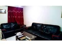 4 . 2 seater leather sofa