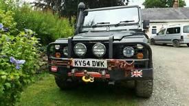 Land Rover Defender 90 County TD5 GKN Overdrive