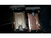 Brand new Samsung 5/s covers, packaged, not used, rose gold or gold