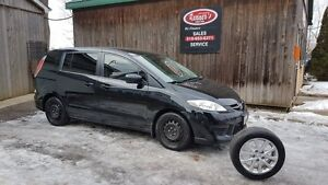 2010 Mazda MAZDA5 GS Winters and Summers/Bluetooth/AutoStart/6Pa