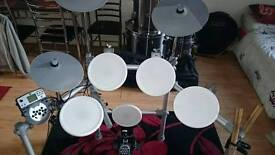 Electric drums as new hardly used bargain price