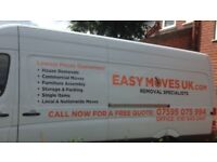 Man and van low price professional removal service fully insured