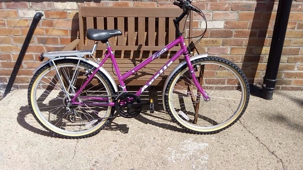 Apollo Womens Bike With Pannier Rack In Sunderland Tyne And