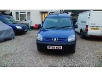 2005 55 peugeot partner 1 owner from new £750