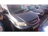 2004 CHRYSLER VOYAGER, 2.5 DIESEL, BREAKING FOR PARTS ONLY, POSTAGE AVAILABLE NATIONWIDE