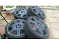 19 inch mercedes alloy wheels