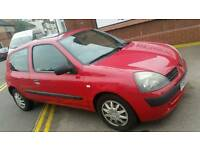 Automatic 1.2 2004 clio mot 11 months cheap insurance and tax px polo corsa golf bmw