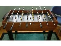 Solex 8 in 1 multi games table including table football, billiards, table tennis, chess & draughts