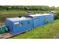 Project boat - steel hull, wooden top - offers/swap considered