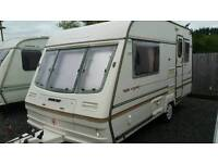 luxury  bailey majestic caravan light weight comes with new awning fitted motormover
